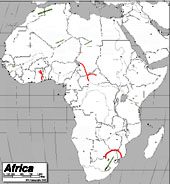 The  Physical Features of Africa Physical Features Map Quiz