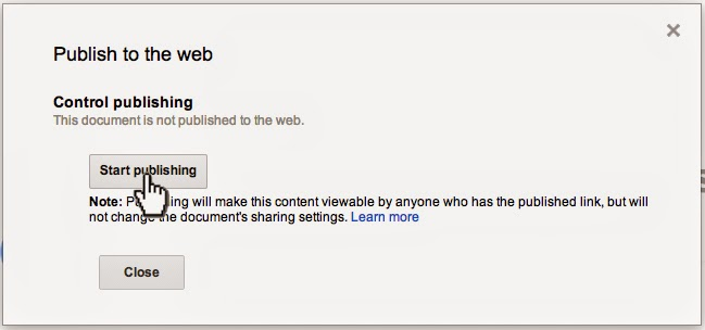 Publish-to-the-Web
