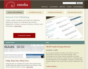 omeka collection from https://www.flickr.com/photos/omeka/3019932780