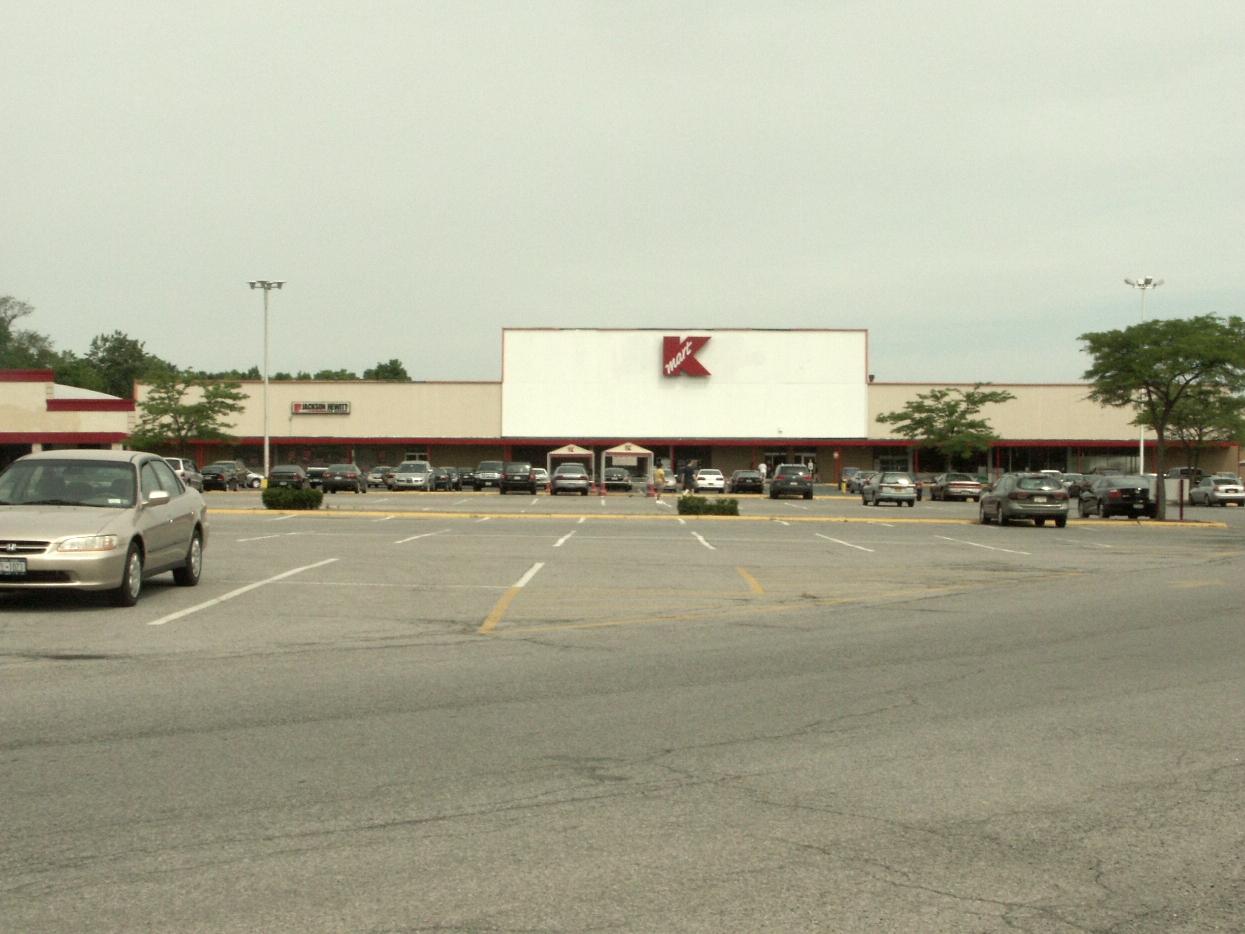 KMart parking lot