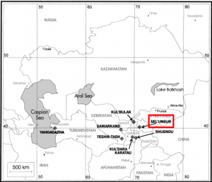 Paleolithic Central Asia Sites