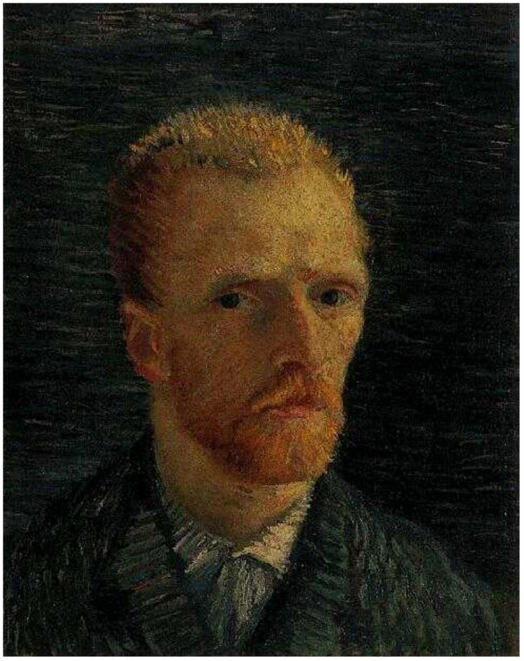 Self-Portrait by Vincent Van Gogh Source: vangoghgallery.com