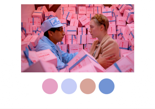 Creativity Breadcrumb #67 : Wes Anderson's Artistic Conception of Color