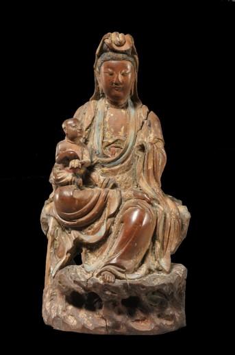 11. Songzi Guanyin, Bodhisattva Avalokiteshvara as the Bestower of Children
