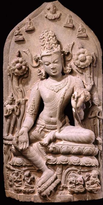 2. Bodhisattva Avalokiteshvara in the Form of Khasarpana Lokeshvara