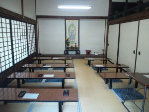 21b. Seiryoji Buddhist Temple, Sutra Copying Room, Japan, 2013, photo: Wikimedia Commons.