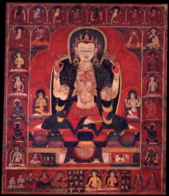 24. The All-seeing Lord with Four Arms, Avalokiteshvara Chaturbhuja