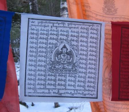 Chenrezig Prayer Flag
