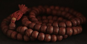 27a. Wooden Prayer Beads, photo: Wikimedia Commons.