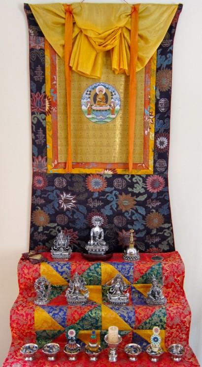 Home Buddhist Altar, 2015