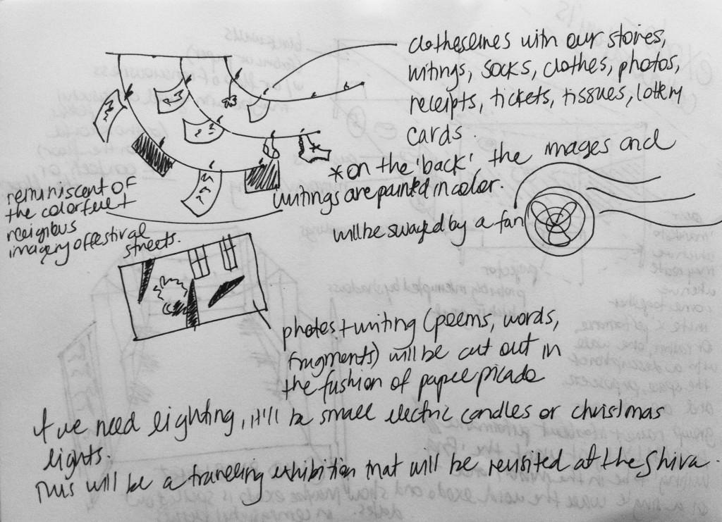 Sofi's sketch of the concept
