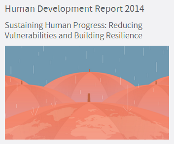 Mapping the UNDP Human Development Report 2014 | Geospatial Mapping