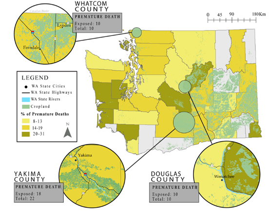 Estimating Pesticide Exposure and Premature Mortality by Parkinson's on web maps, geographic literacy maps, library maps, arcgis maps, wria maps, engineering maps, shapefile maps, satellite maps, geoportal maps, geography maps, 5 types of thematic maps, goo maps, xml maps, science maps, geospatial maps, linn county iowa flood maps, cartography maps, louisa county va plat maps,