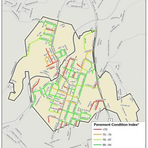 Village of Wappingers Falls Pavement Condition Index Map
