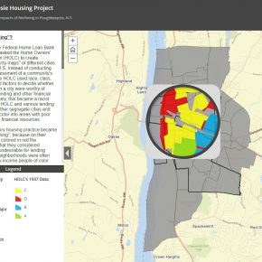 Investigating the Impacts of Redlining in Poughkeepsie, N.Y. by James Gibson on behalf of Hudson River Housing.