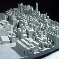 Jersey City, Hoboken, and Manhattan (Detail)
