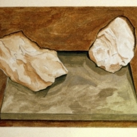 Still Life #9, A Part of the Ground Has Pulled Away