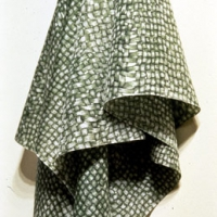 Green Hanging Cloth (detail)