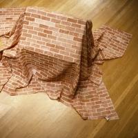 Draped Brick House (detail)