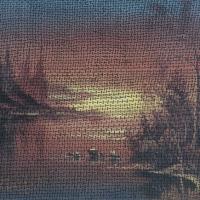 Evening Falls (Conversation with W. Alexander)