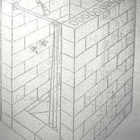 Concrete Shower (Quote)