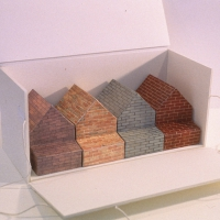 Boxed Maquettes for Rockland Community College