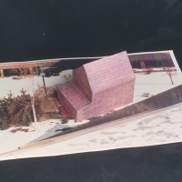 Four Houses (Mauve House) Maquette for Rockland Community College