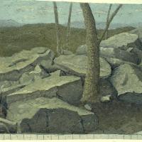 Subway Wall, Full Size Drawing (detail)