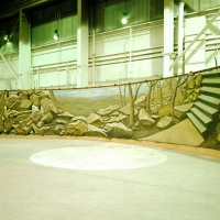 Subway Wall, Finished at Tallix Foundry