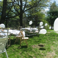 White Balloons, Rose's First Communion