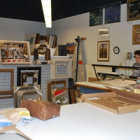 Catskill Art and Office Supply, Framing Section