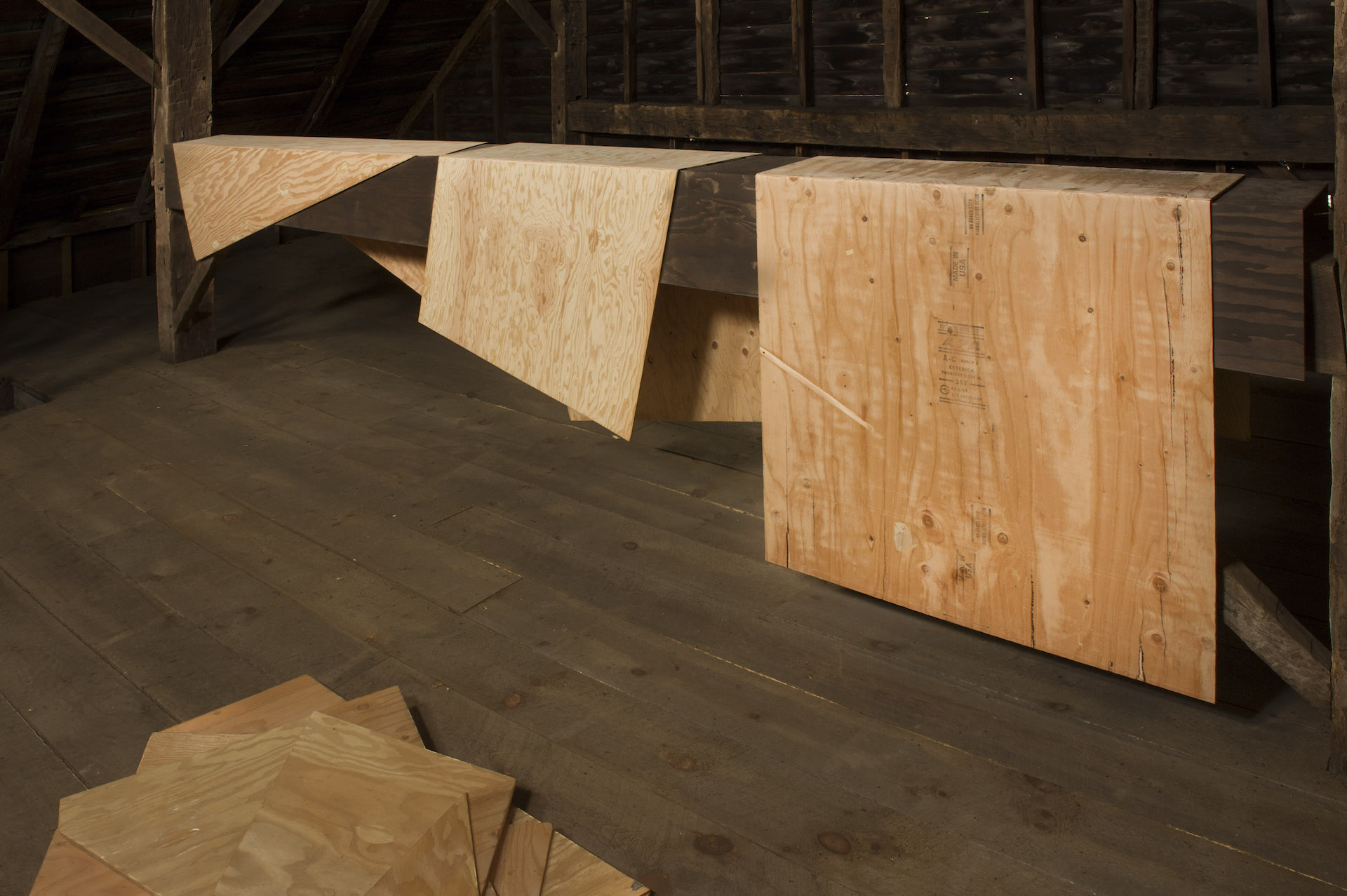 Folded Plywood 27, 26 and 25