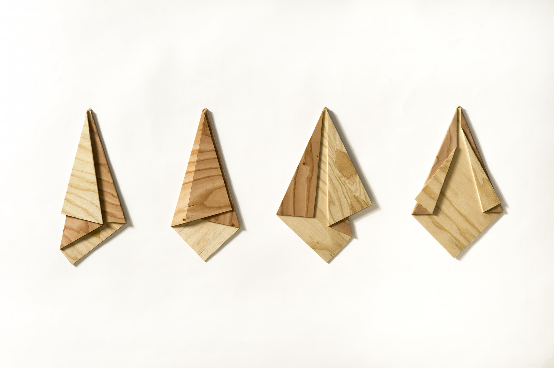 Small Scale Folded Plywood