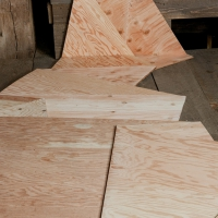 Folded Plywood 18 (Detail)