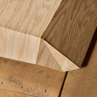 Folded Plywood 19 (Detail)