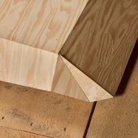Folded Plywood 19 (Detail)