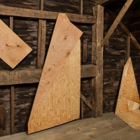 Folded Plywood Installed in Dutch Barn 3