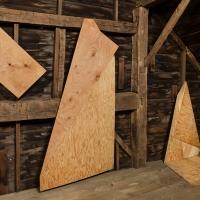 Folded Plywood Installed in Dutch Barn 3