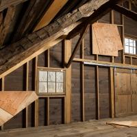Folded Plywood Installed in Dutch Barn 4