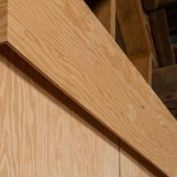 Folded Plywood 22 (Detail)