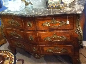 Chest of drawers priced at $32,000 at Noonan Antiques
