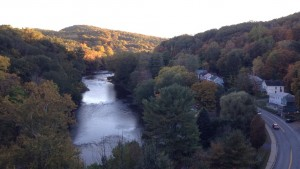 View from the trestle
