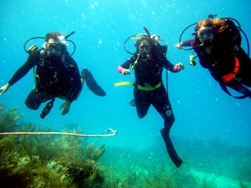 Diving with Monica and Mickey in the Florida Keys