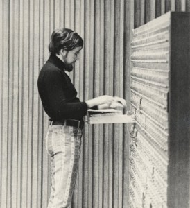 Using the card catalog , ca 1975