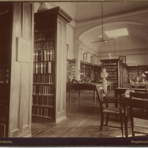 ph.f 3.21 Main Building Library ca 1880
