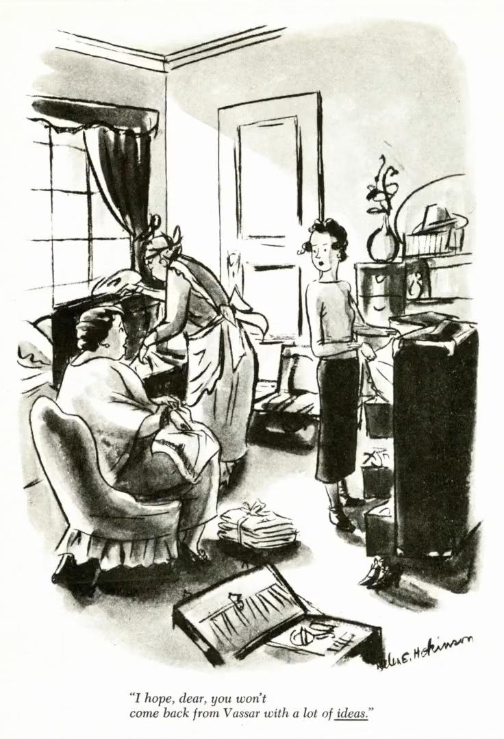 Helen Hokison cartoon