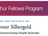 Ellen Kovner Silbergeld MacArthur Genius Award profile