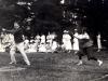 Founder\'s Day baseball game, 1918 - Henry Noble MacCracken taking a swing