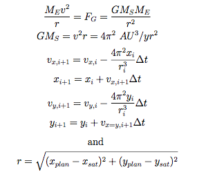 sling-shot-equations