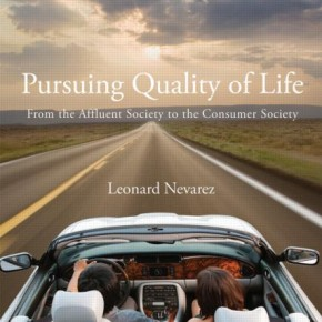 "shameless self-promotion: ""Pursing Quality of Life"""